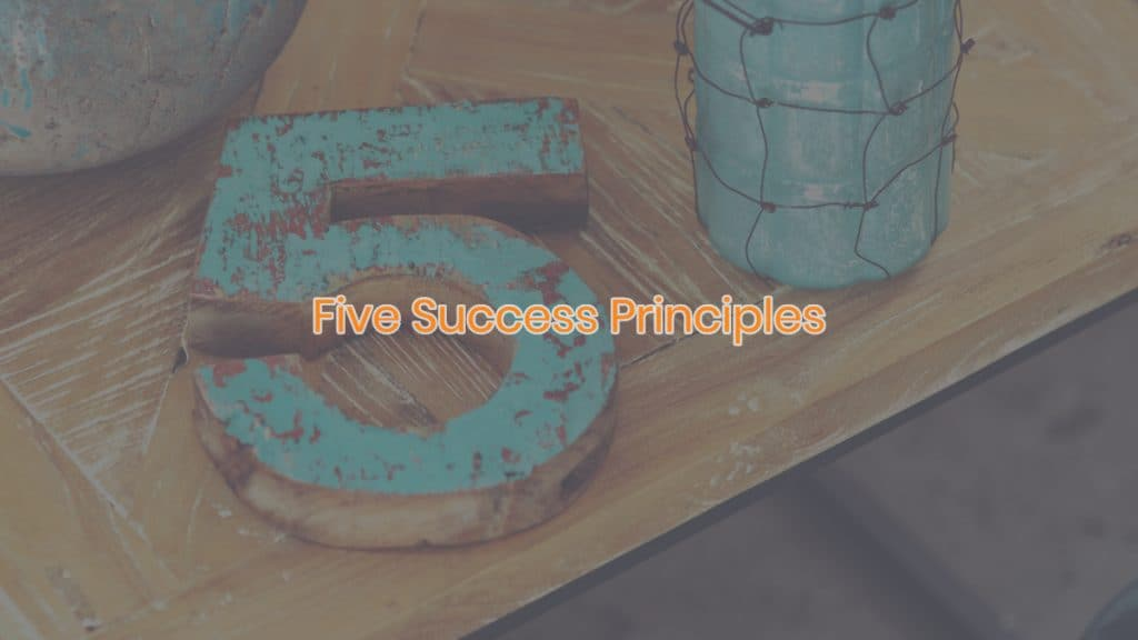 Five Success Principles